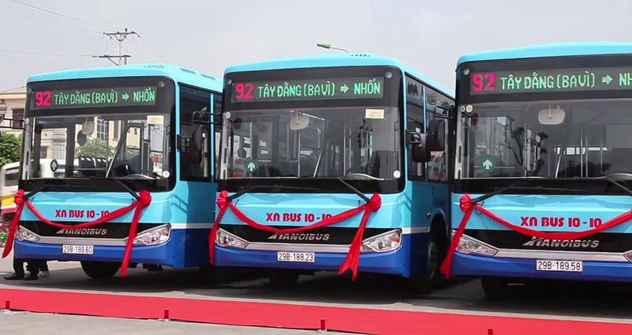 Tuyến bus số 92 Nhổn - Ba Vì