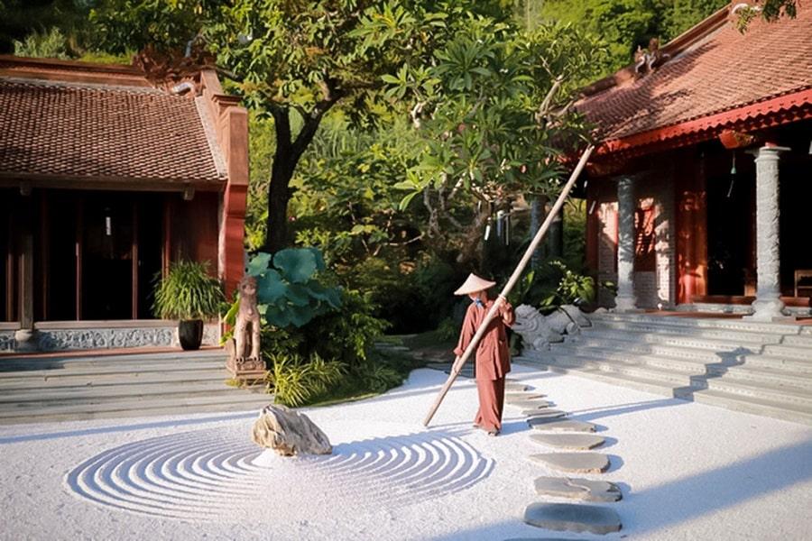 Vẻ đẹp bình yên của Địa Tạng Phi Lai Tự