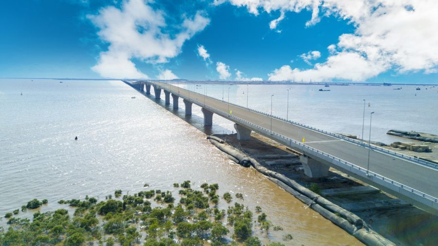 Cầu vượt biển Tân Vũ – Lạch Huyện dài nhất Việt Nam