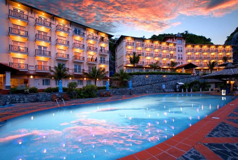 Cat Ba Island Resort & spa là khu nghỉ dưỡng hiện đại bậc nhất trên đảo.