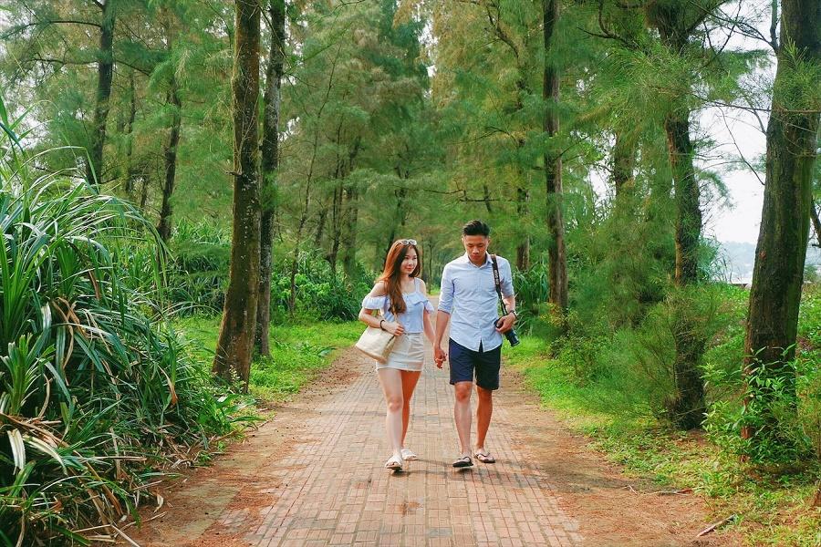 Con đường tình yêu Cô Tô