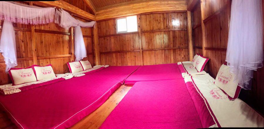 Phòng trong Homestay A Dào sạch sẽ