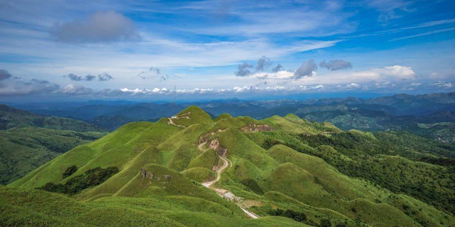 Những ngọn đồi xanh mướt ở Bình Liêu