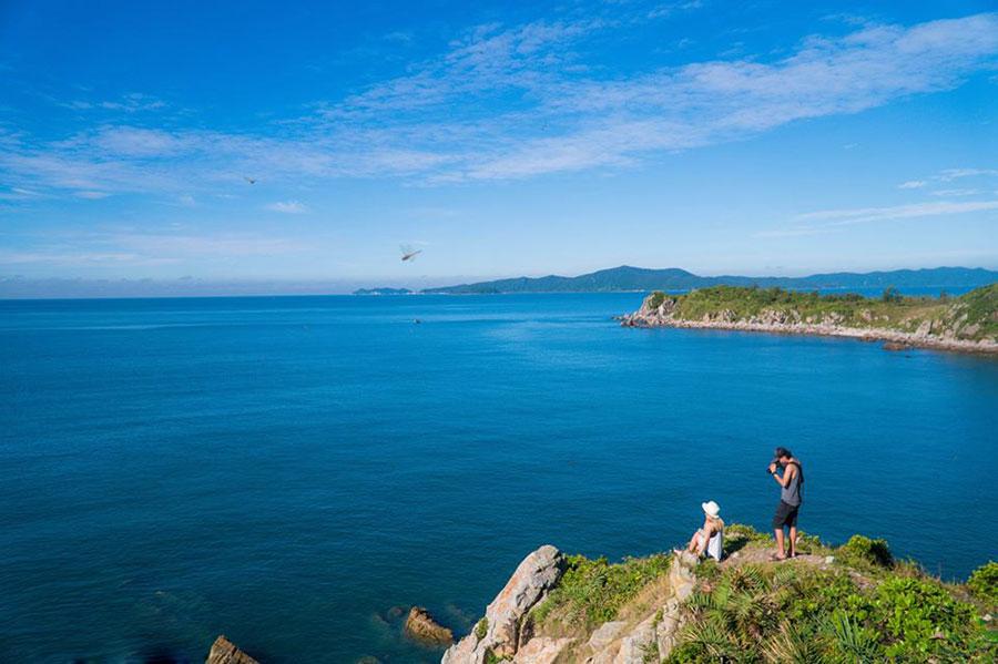 Bãi Gót - địa chỉ ngắm thiên nhiên đảo Quan Lạn lý tưởng nhất