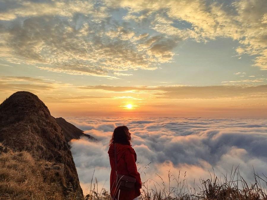 Biển mây Tà Xùa vào buổi hoàng hôn