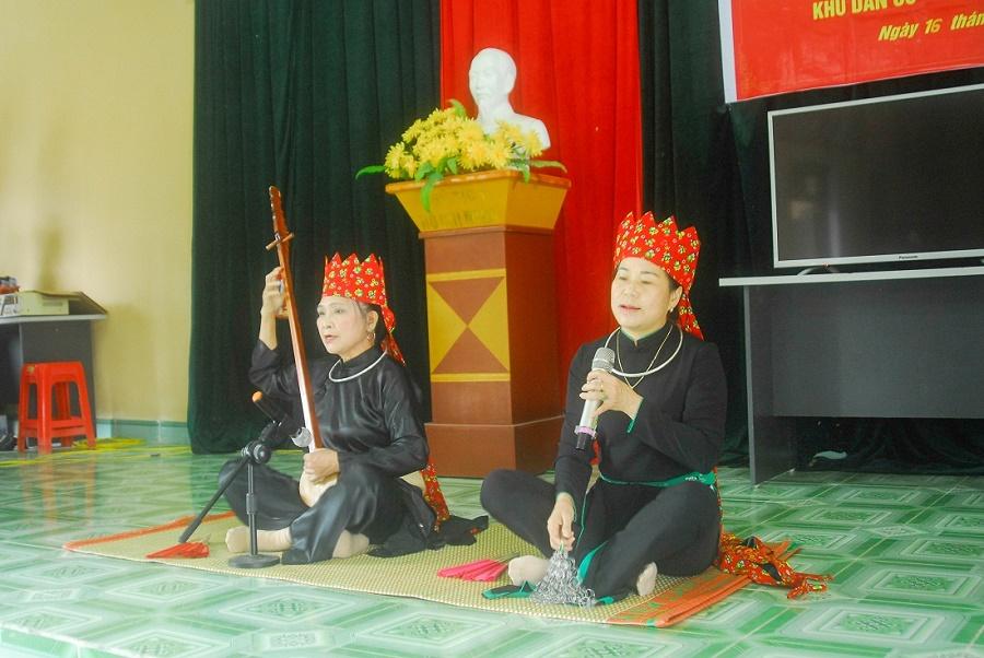 Câu lạc bộ hát Then Hoành Mô