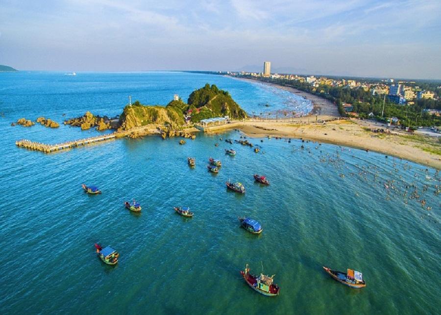 Đảo Lan Châu- hòn đảo đẹp nhất Cửa Lò.