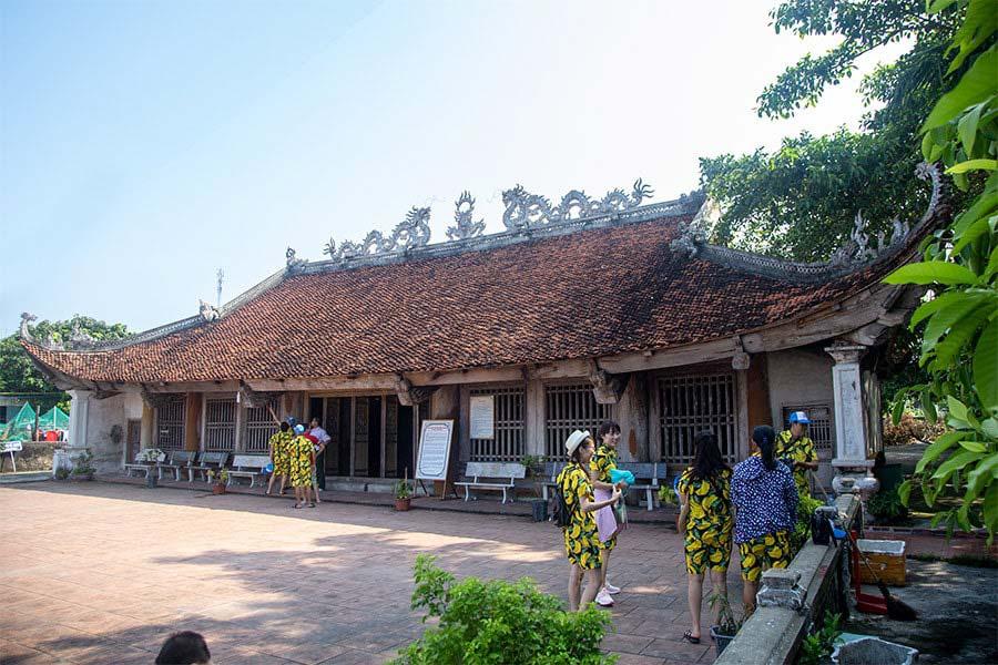 Đình Quan Lạn là địa chỉ văn hóa tâm linh của người dân địa phương