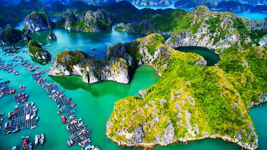 Đảo cát Bà- Hòn Ngọc của Vịnh Bắc Bộ.