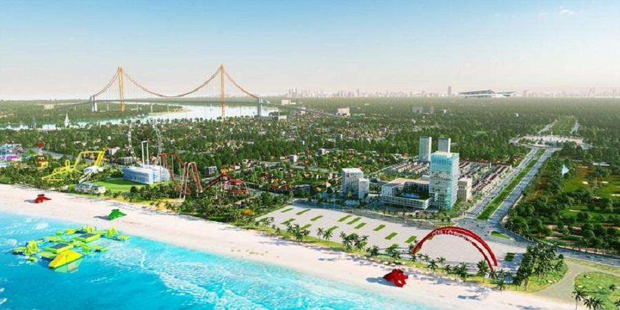 Bãi biển Cửa Lò là địa điểm du lịch nổi tiếng của nước ta.