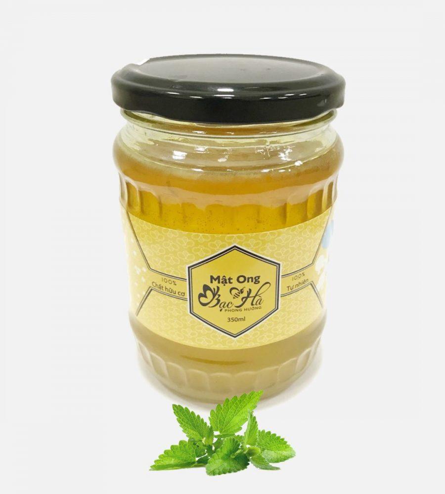 Mật ong bạc hà rất tốt cho sức khỏe