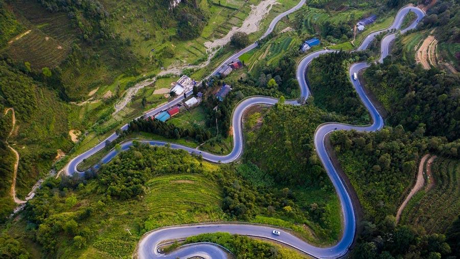 Đèo Mã Pì Lèng - Cung đường độc đáo tại Hà Giang