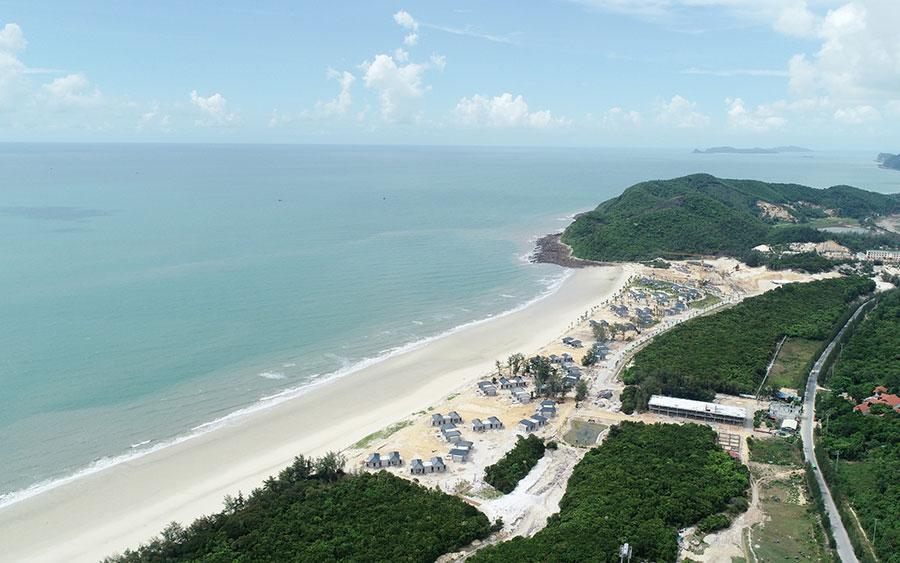 Khu nghỉ dưỡng Vân Hải tại khu vực đảo Quan Lạn