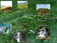 Bản đồ du lịch cung cấp đầy đủ các điểm tham quan cùng hành trình di chuyển thuận tiện nhất