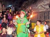 Nghi lễ hầu Đồng tại đền Mẫu Đầm Đa
