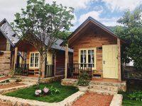 Ngôi nhà gỗ ở Cô Tô