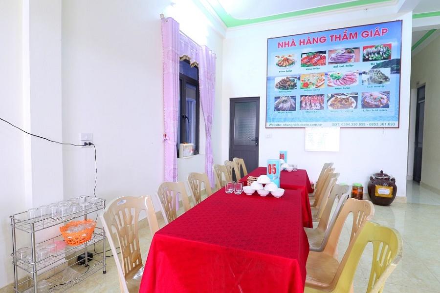 Nhà hàng Thắm Giáp