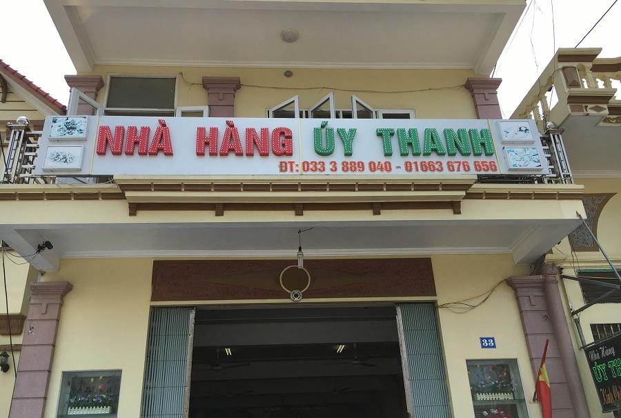 Nhà hàng Úy Thanh