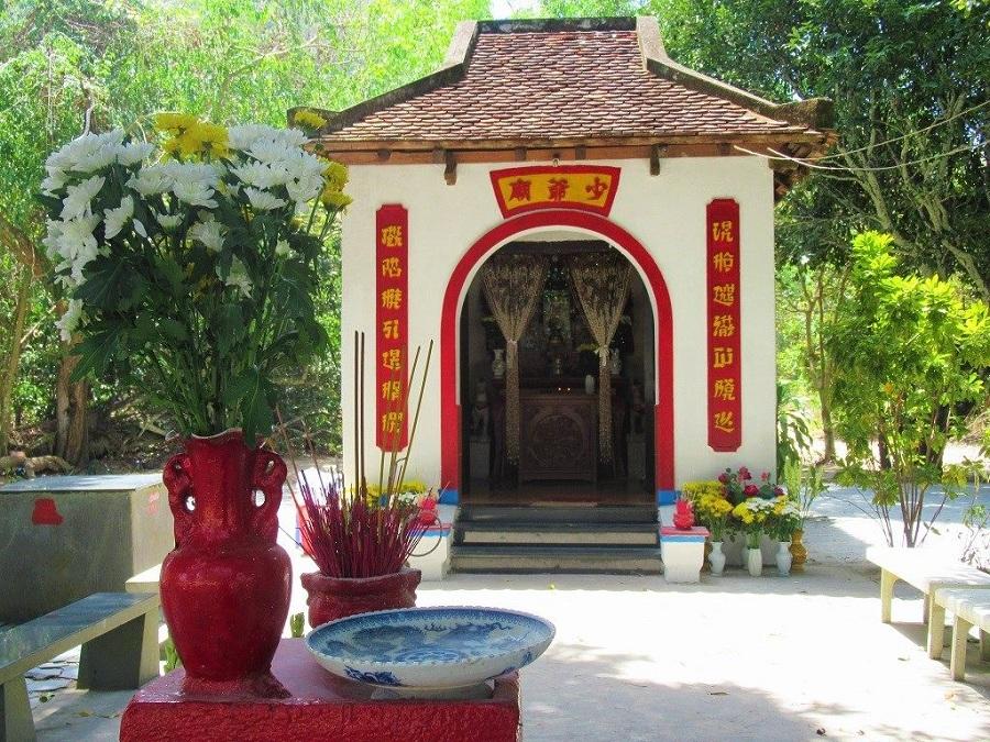 Miếu thờ bà Phi Yến thiếp của vua Nguyễn Ánh