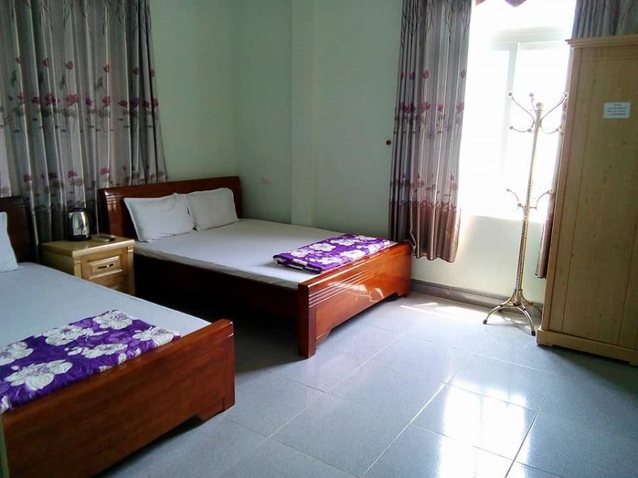 Phòng ngủ khách sạn Hải Âu Cô Tô