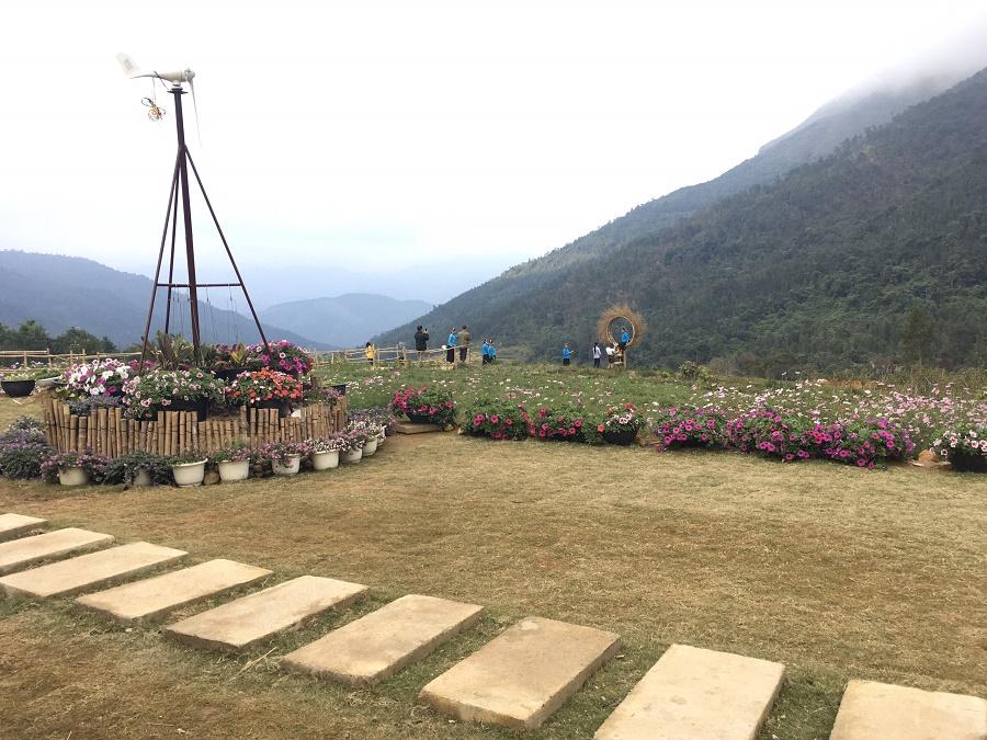 Vườn hoa Cao Sơn