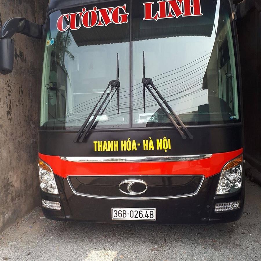 Xe khách đến biển Hải Tiến