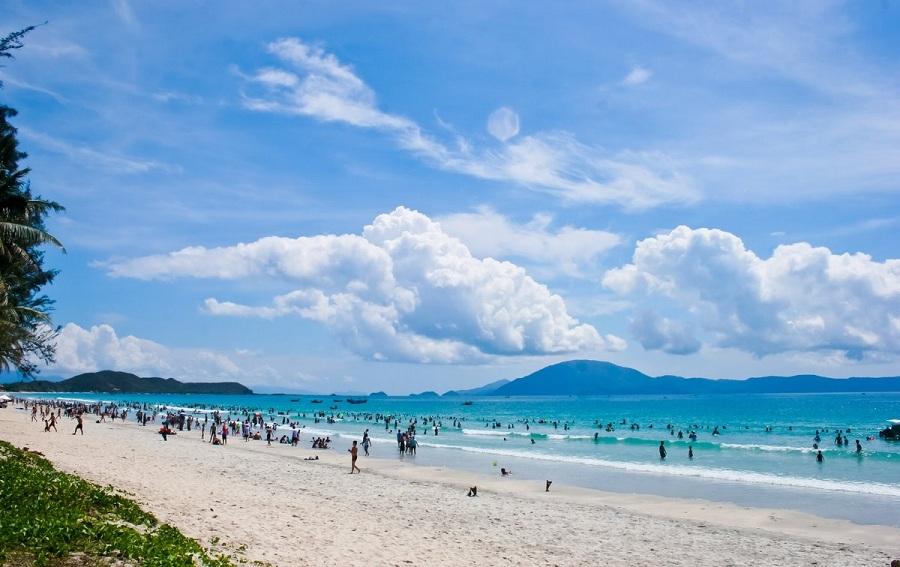 Bãi biển Đồ Sơn ở Hải Phòng