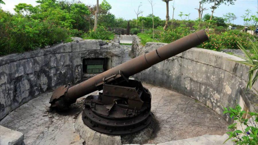 Pháo đài thần công mang dấu ấn lịch sử
