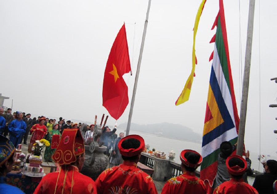 Lễ hội Đảo Dấu được tổ chức đầu năm là hoạt động văn hóa đặc sắc