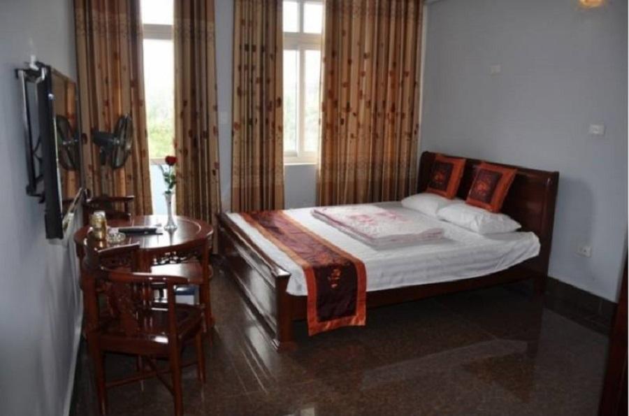 Phòng nghỉ 1 giường ở Khách sạn Quân khu 1 Đồ Sơn (Hải Phòng)