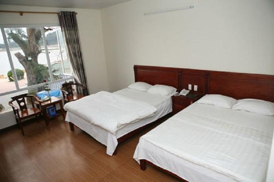 Phòng nghỉ với đầy đủ tiện nghi tại khách sạn Biển nhớ Đồ Sơn