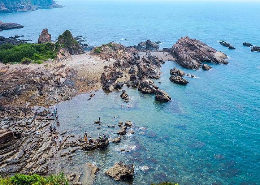 Biển Cô Tô xinh đẹp