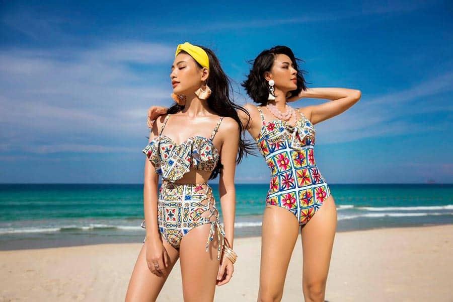 Những bộ bikini khoe khéo đường cong quyến rũ để tắm biển thoải mái, dễ chịu