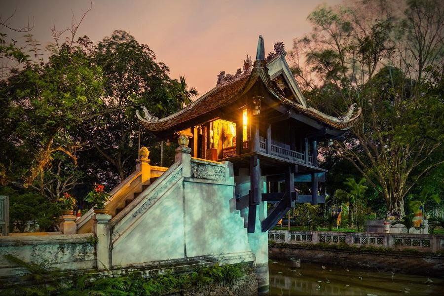Chùa Một Cột - biểu tượng của thủ đô Hà Nội