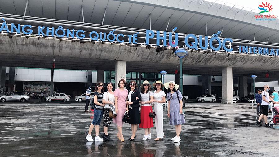 Đoàn cua du lịch Khát Vọng Việt tham quan Phú Quốc