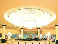 Quầy lễ tân sang trọng ở Đồ Sơn Resort