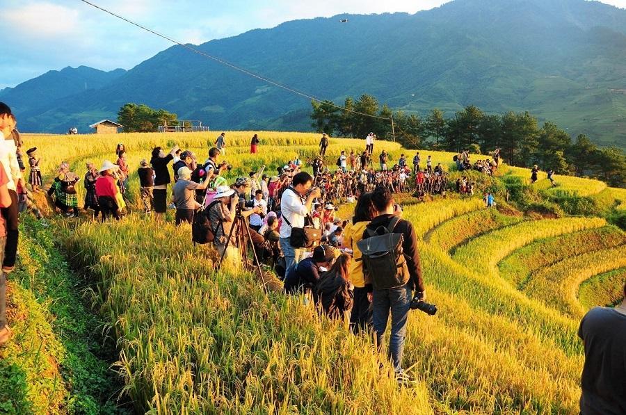 Lễ hội thu hút được rất nhiều du khách