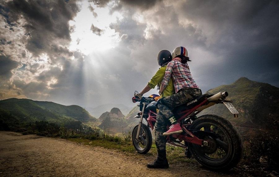 Những phượt thủ chính hiệu chinh phục đèo Khau Phạ bằng xe máy