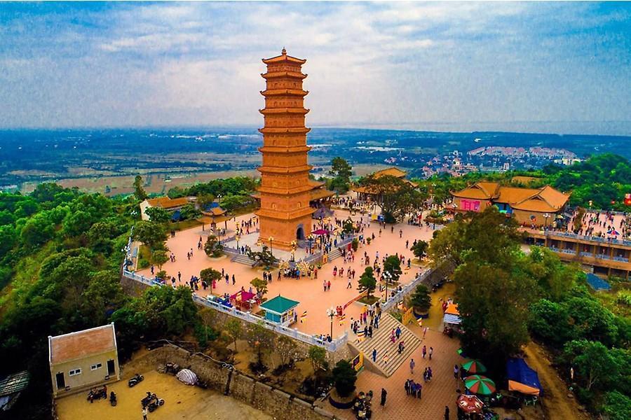 Tháp Tường Long - ngọn tháp gắn liền với thời Lý Trần Việt Nam