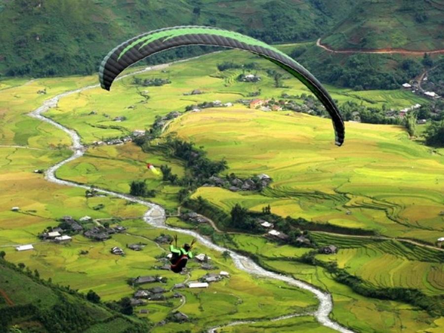 Đèo Khau Phạ được mệnh danh là điểm bay đẹp nhất Việt Nam