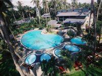 Khu hồ bơi của Hòn Dấu resort