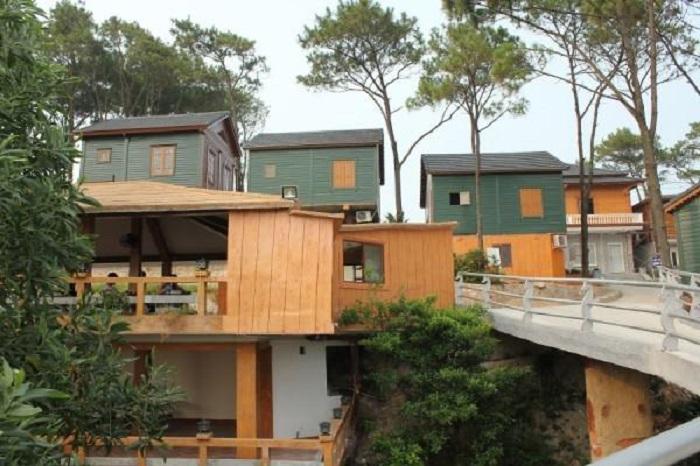 Thiết kế phòng ở độc đáo giữa rừng tự nhiên của Hòn Dấu resort