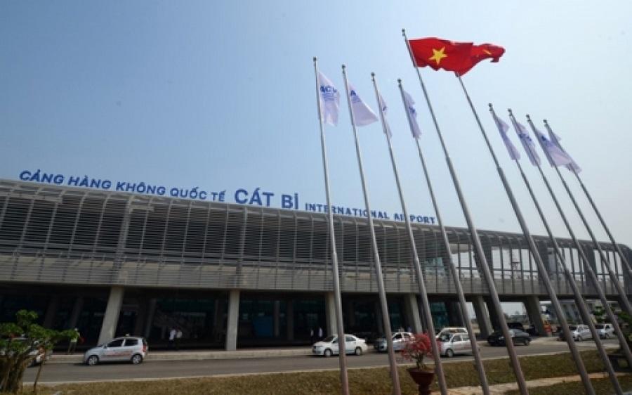 Sân bay Cát Bi phục vụ hoạt động vận chuyển hành khách đến và đi tại Hải Phòng