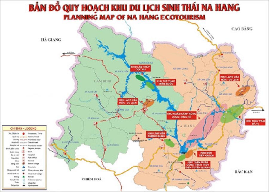 Bản đồ du lịch Na Hang