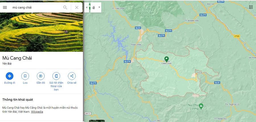 Mù Cang Chải là một huyện miền núi của Yên Bái
