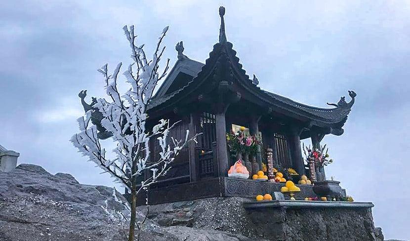 Chùa Đồng - nơi cao nhất của di tích Yên Tử