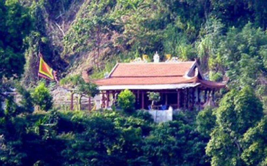 Đền Pác Tạ thờ vị hôn thê của Văn Chiêu Vương Trần Nhật Duật