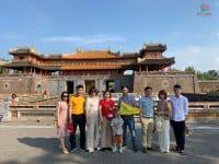 Gia đình chị Vân Anh đi tour Quảng Bình – Quảng Trị – Huế