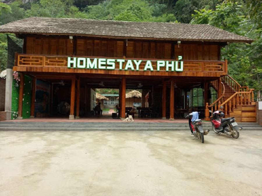Hình ảnh homestay A Phủ tại Na Hang