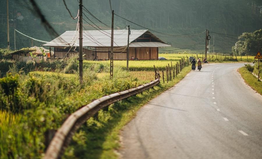 Bản Lim Mông ở xã Cao Phạ